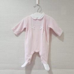 Pijama de terciopelo rosa...
