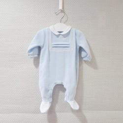 Pijama celeste de...
