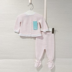 Conjunto de hilo para bebé...