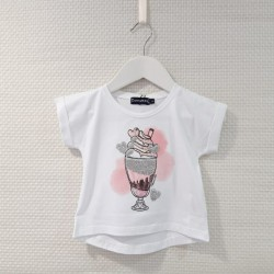Camiseta manga corta helado...