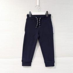 Pantalón de algodón azul...