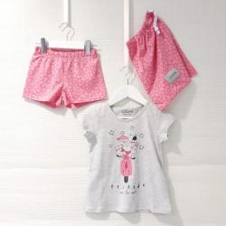 Pijama corto para niña...